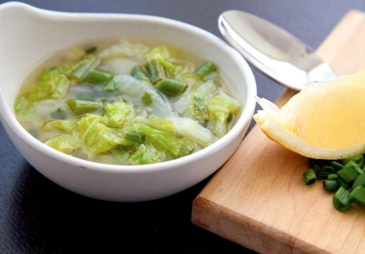 Dieta z zeljno juho