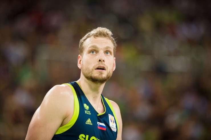 Slovenski 'zlati' košarkar prvič postal očka