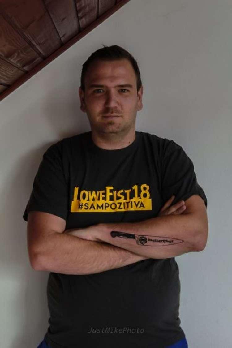 MasterChef: Prvi izpadel in se tetoviral v čast šova