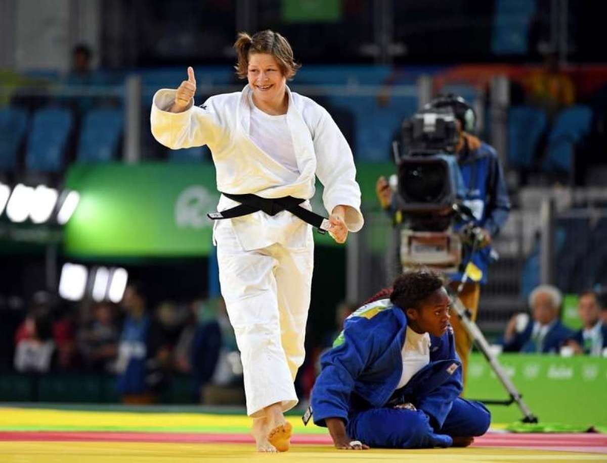 Judoistka Tina Trstenjak, ki ji novinarji Associated Press
