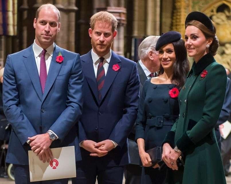 princ william, princ harry, meghan markle, kate middleton
