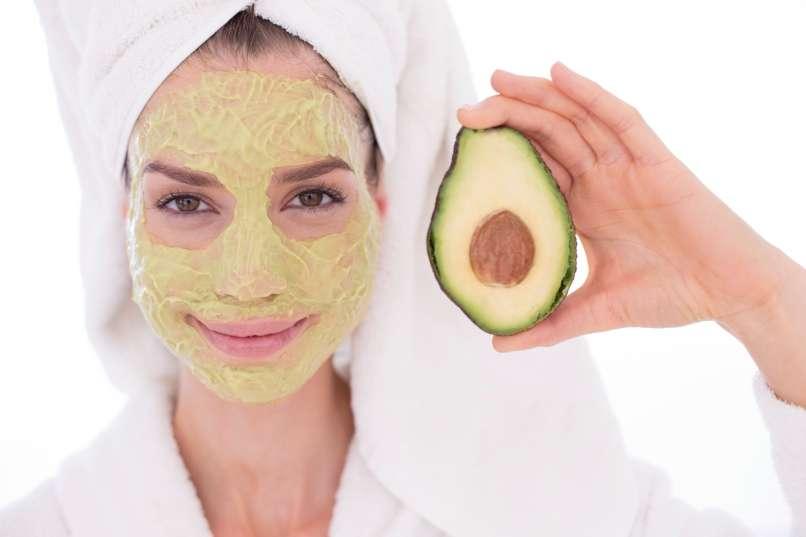 maska za obraz, Avokado