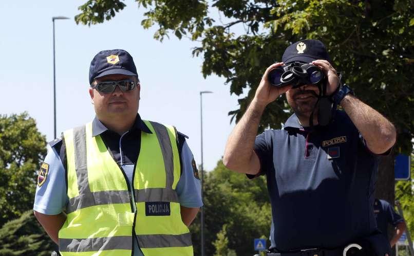 mešane patrulje, slovensko-italijanska meja