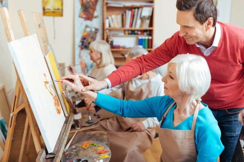 risanje, slikanje, umetnica