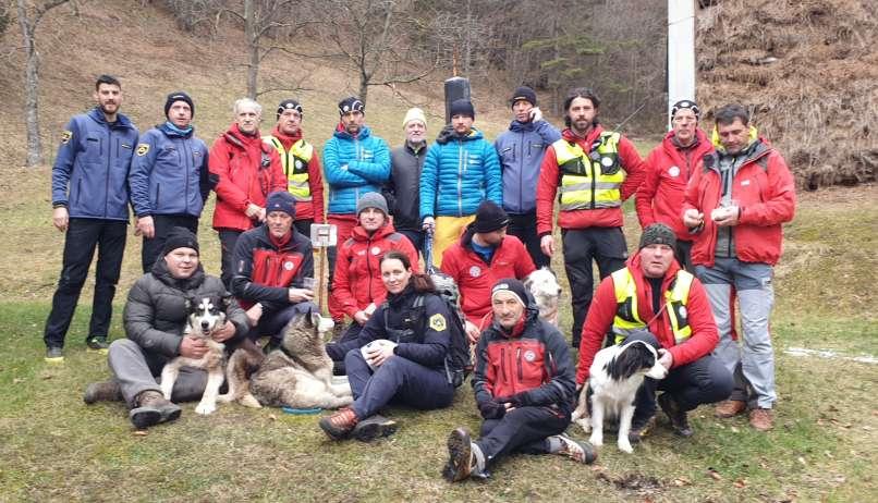 gorski reševalci, iskalna akcija, Blegoš