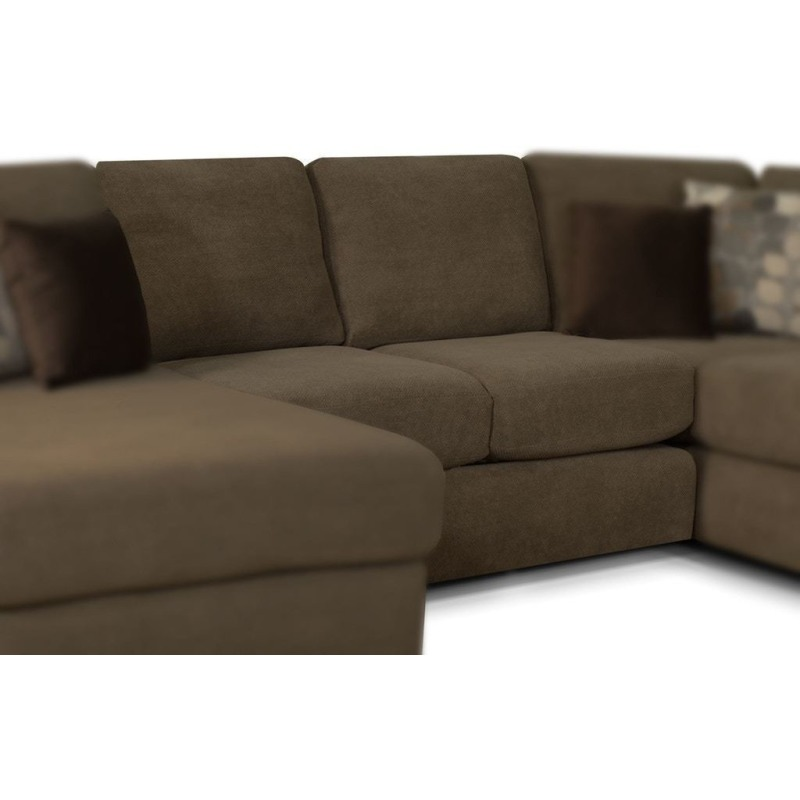 Abbie 3 PC Sectional by England Furniture - 8250-05+43+64 ... on Riley 3 Piece Sectional Charleston id=84311