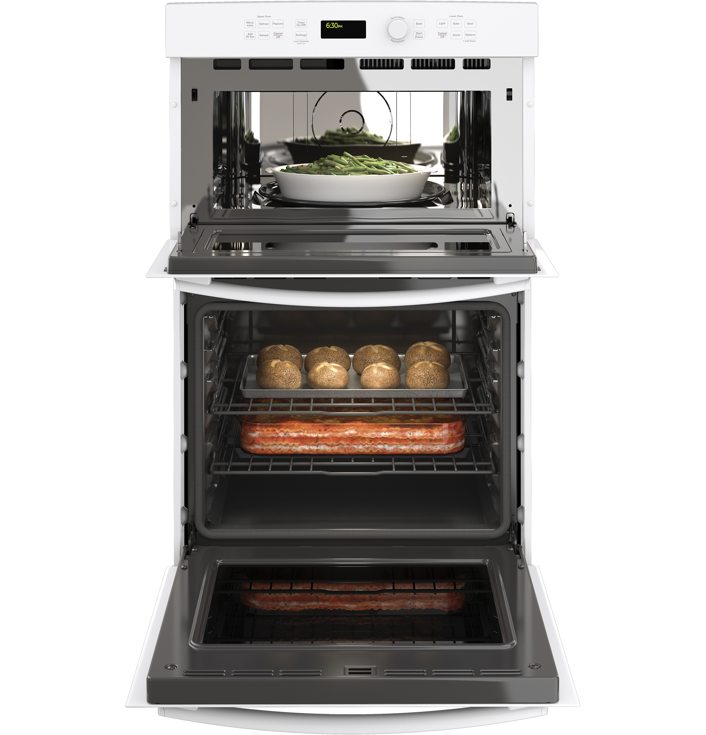 27 built in combination microwave oven