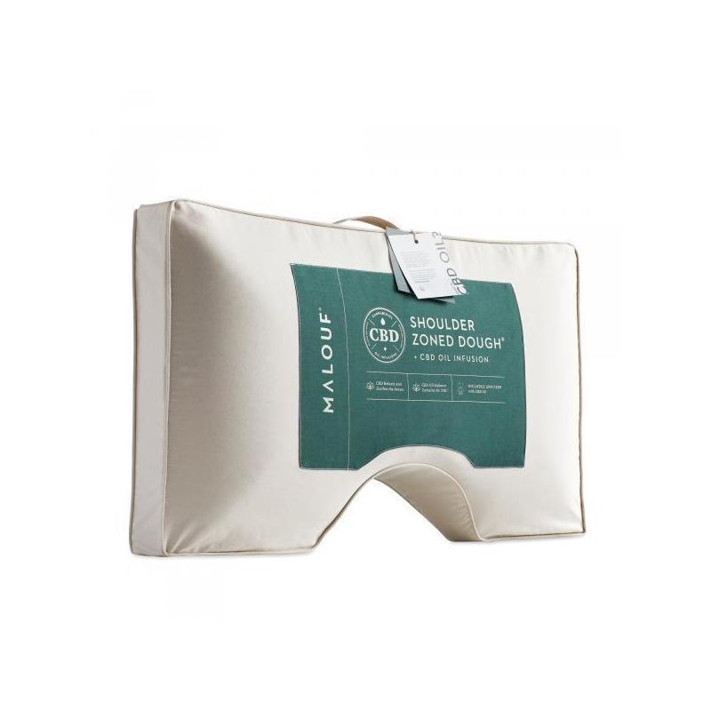 shoulder zoned dough cbd oil pillow
