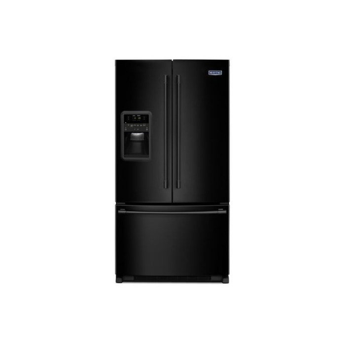 33 Inch Wide French Door Refrigerator With Beverage Chiller Compartment 22 Cu Ft By Maytag Nis282944389 Missouri Furniture