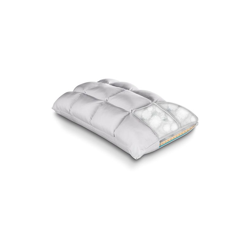softcell chill reversible hybrid pillow