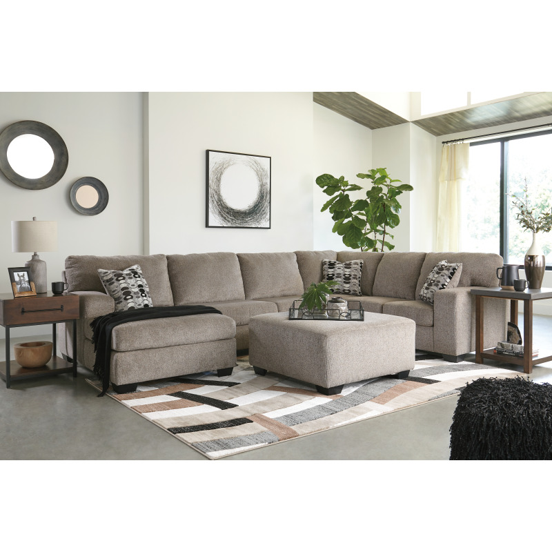 Ballinasloe 3-Piece Sectional with Chaise by Signature ... on Riley 3 Piece Sectional Charleston id=50383