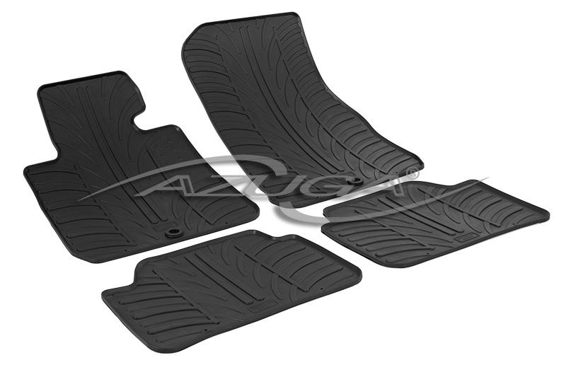 Gummimatten für BMW 1er (F20) ab 9/2011 Gummi-Fußmatten Automatten Reifen-Design