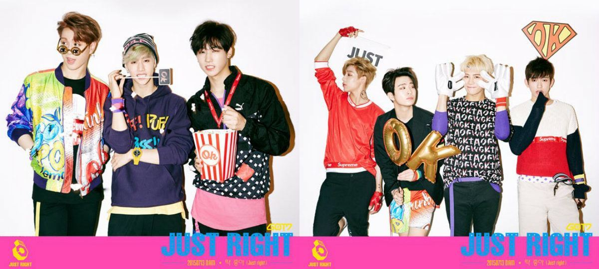 GOT7 Just Right two group teaser