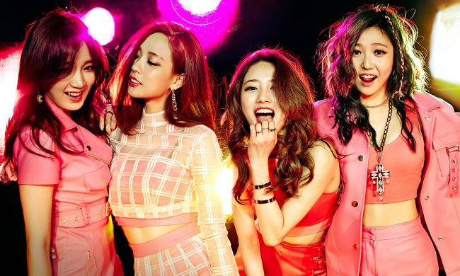 "JYP Entertainment / miss A's ""Colors"""