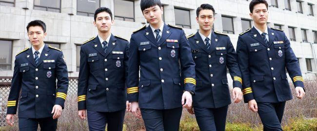 Take a look at these handsome policemen!