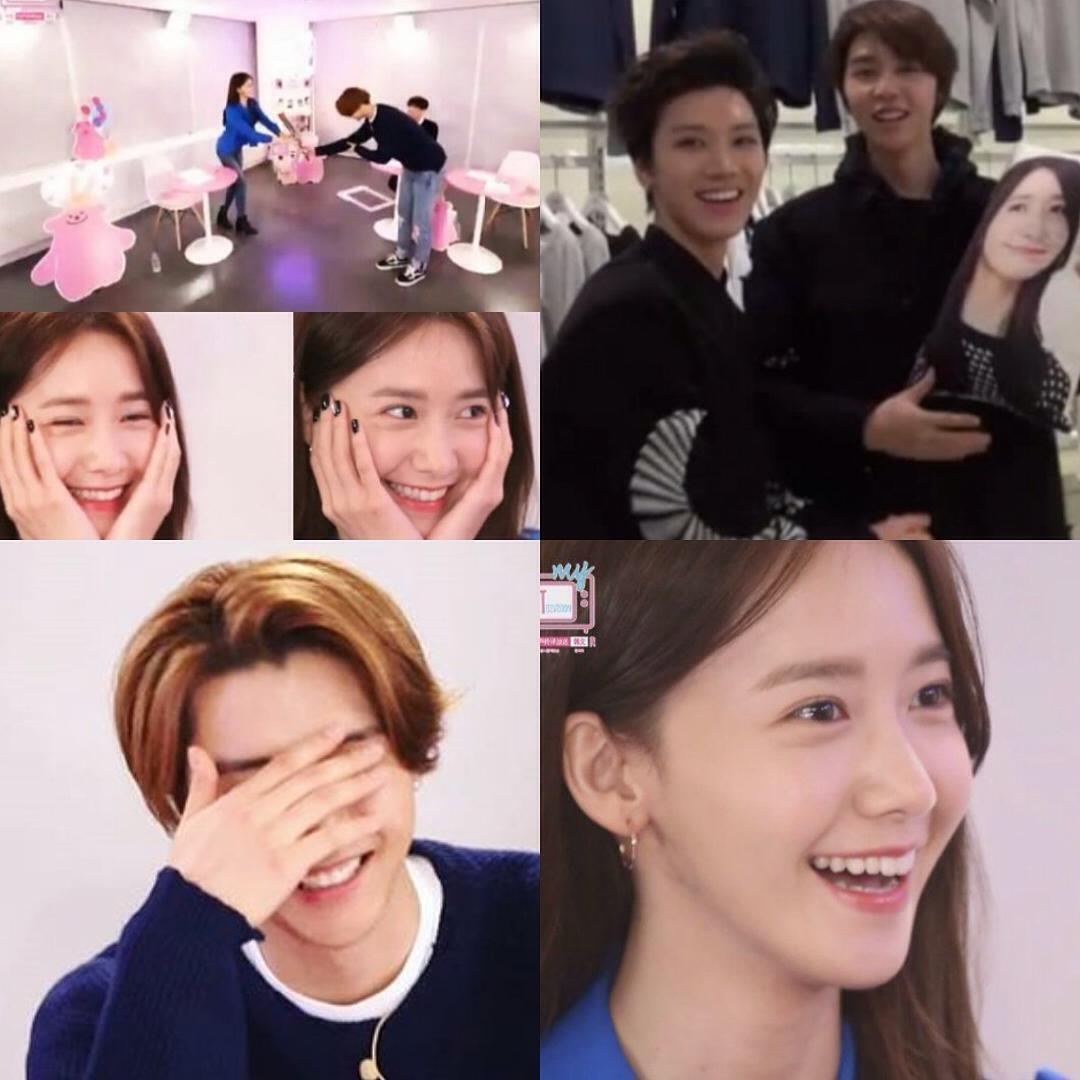 Johnny reveals that he is indeed a Yoona fanboy at heart /Source: Pictaram