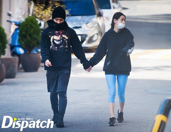 The couple walking around the neighborhood, when Dispatch spotted them.
