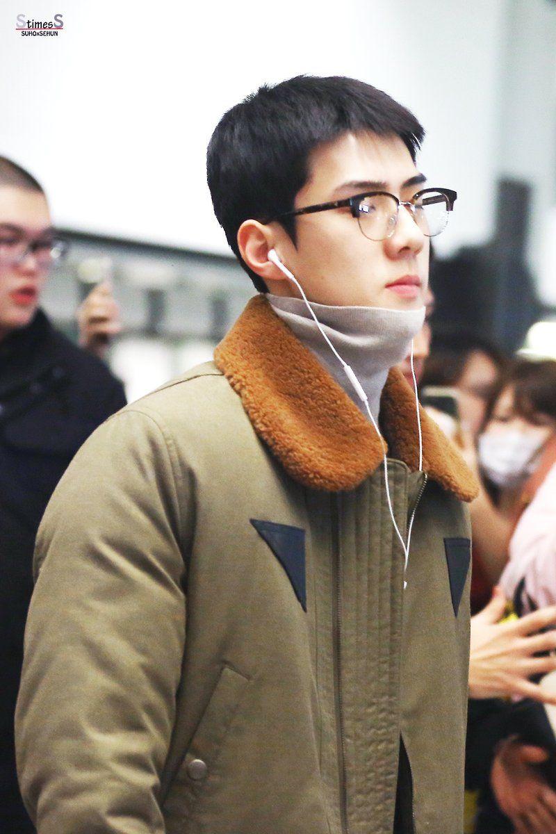 EXO Sehuns New Short Haircut Makes Him Even Dreamier
