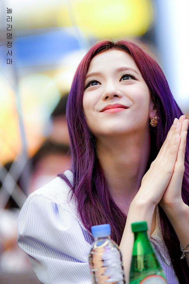 Image result for jisoo blackpink purple