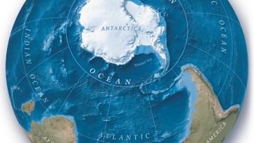 L'océan Austral rejoint officiellement la carte du monde !