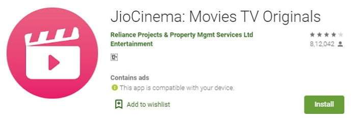 Jio cinema