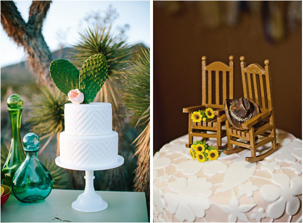 Quirky and Unique Wedding Cake Topper Ideas   Lake Tahoe Inspiration     Unique Cake Toppers 3