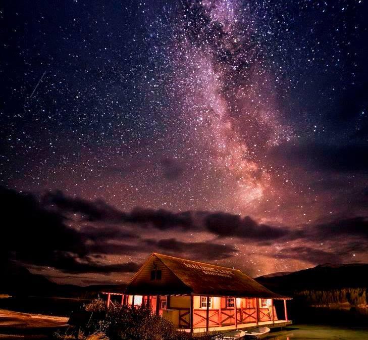 A Romantic Night View The Best Meteor Shower Here Jasper