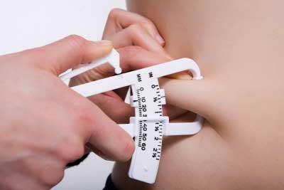 calculo del porcentaje de grasa corporal con plicometro