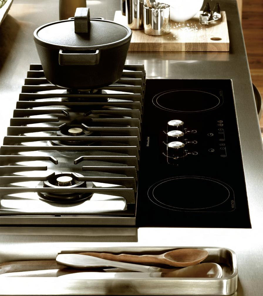 de cuisson mixtes gaz et induction