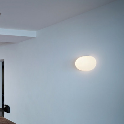 flos glo ball wall ceiling lamp