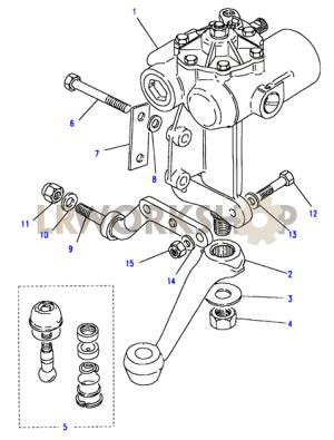 Steering Box  Power  Gemmer  Land Rover Workshop