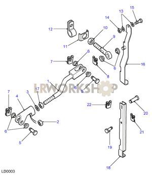 Rod Assembly  LT77S  Without Pivot  Land Rover Workshop