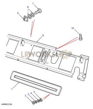 Dash Ventilator  Land Rover Workshop