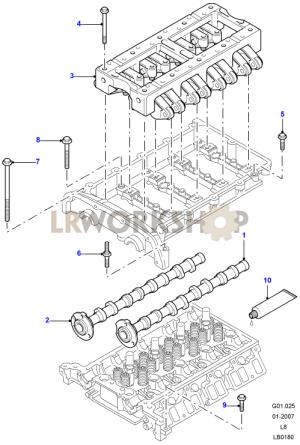 Camshaft  24 Tdci  Land Rover Workshop