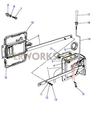 Front Door Latch Mechanism  To AA270226  Land Rover Workshop