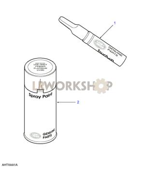 Paint  Land Rover Workshop