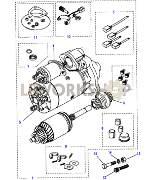 Starter MotorLucasType M113  25 NA  Land Rover Workshop