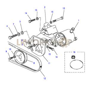 Power Steering Pump  25 TD  Land Rover Workshop