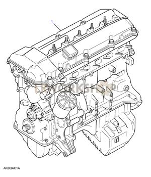 Stripped Engine  28 BMW M52  Land Rover Workshop