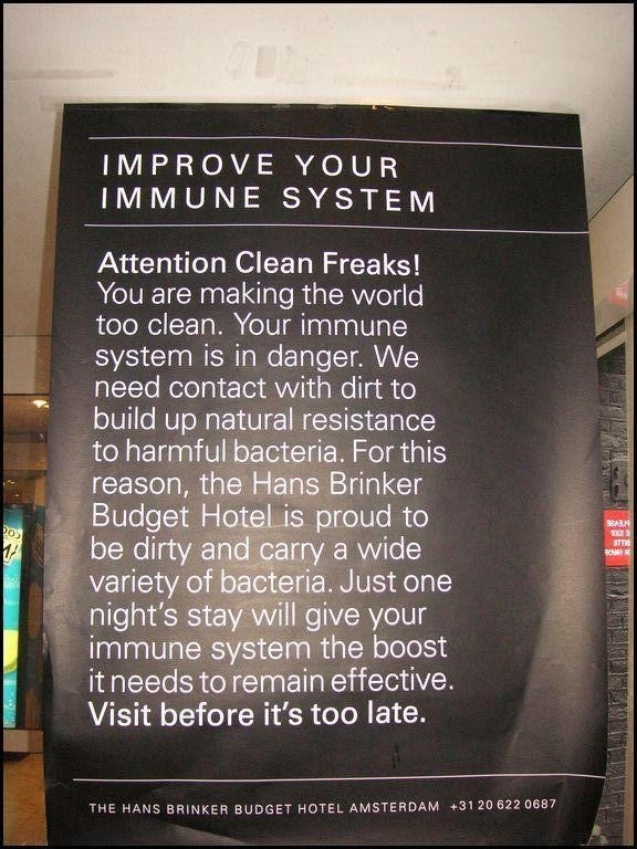 Hans Brinker Budget Hotel : Improve Your Immune System
