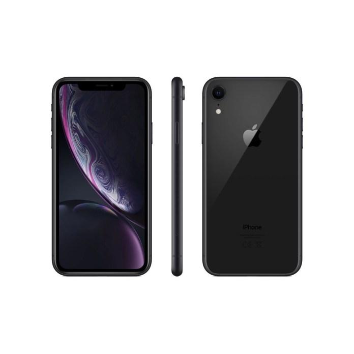 Smartphone iPhone XR Noir 128 Go