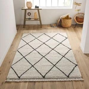 tapis shaggy aspect laineux afaw la