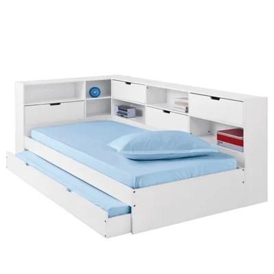 lit avec tiroir rangements et sommiers yann lit avec tiroir rangements et sommiers yann