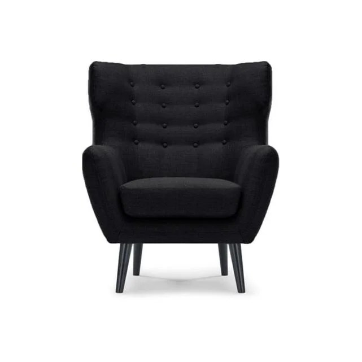 fauteuil cuir scandinave la redoute
