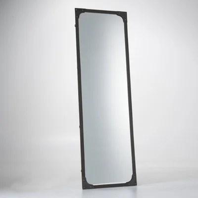 miroir metal taille xl style industriel lenaig miroir metal taille xl