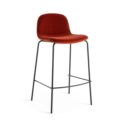 chaise haute rouge la redoute