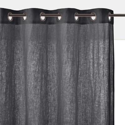 rideau gris clair la redoute