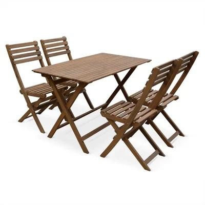 mobilier de jardin bois exotique la
