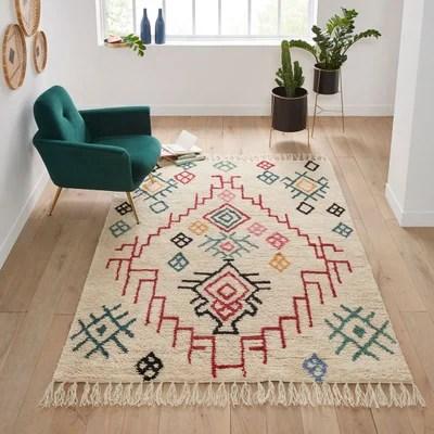 tapis de salon en solde la redoute