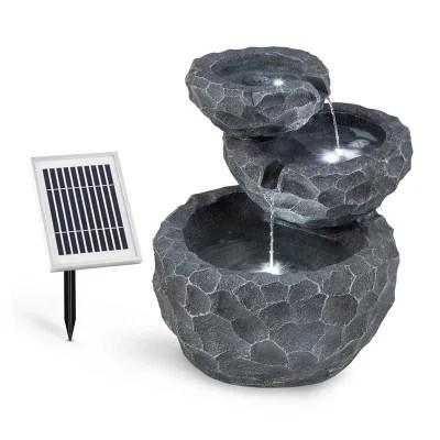 fontaine de jardin solaire la redoute